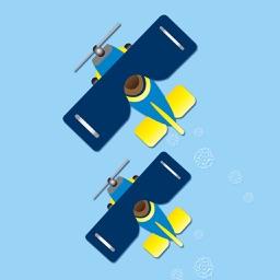 2 Planes - #1 Best Endless Arcade Zig Zag Crack Game Unlimited!