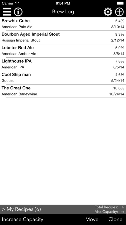 Fermenticus Brew Log - Home Brewing Calculator & Logbook