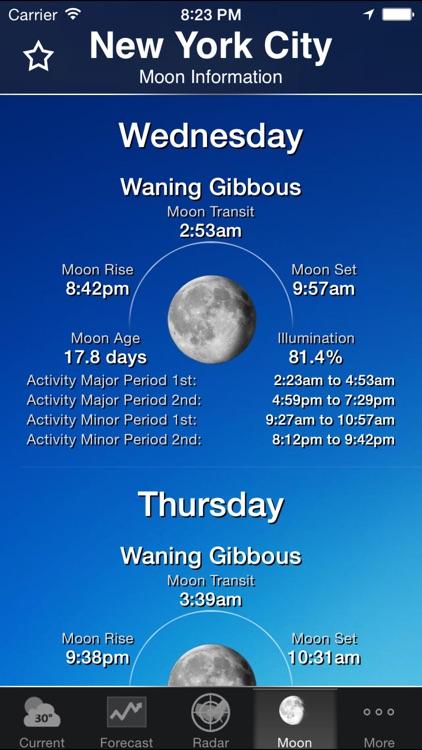 NOAA Weather and Radar screenshot-4