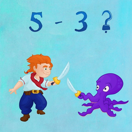 Pirate Sword Fight - Fun Educational Counting Game For Kids.
