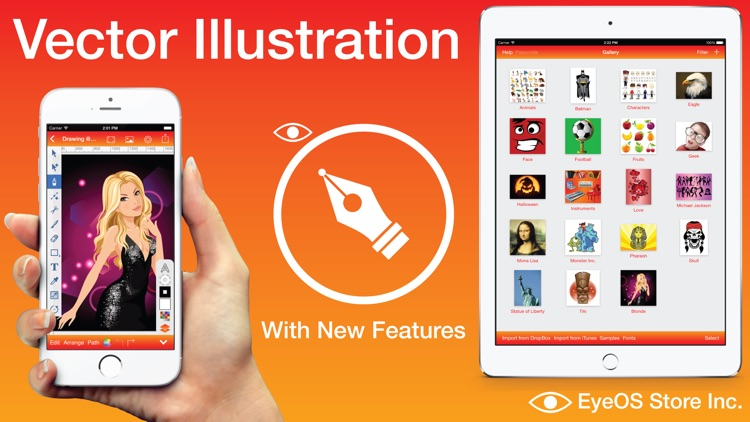 Vector Illustration - Draw with Vectors