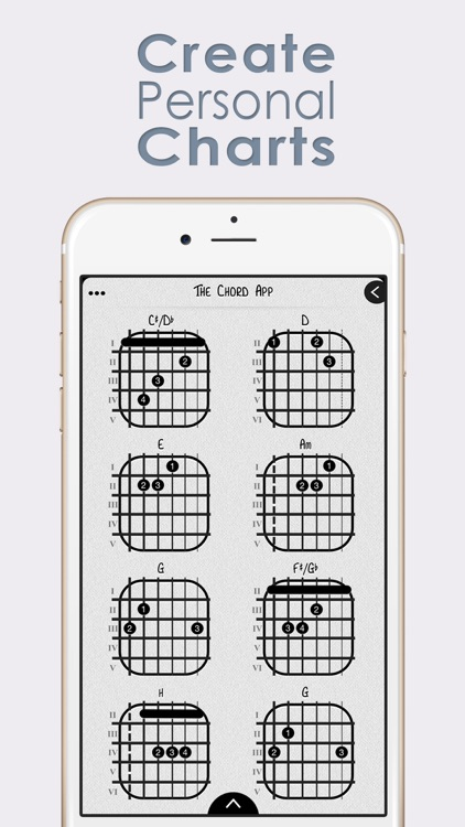 The Chord App : Guitar Chord Chart Builder For Professionals and ...