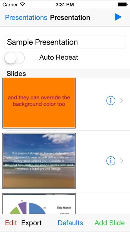 Simple Presentations screenshot-3