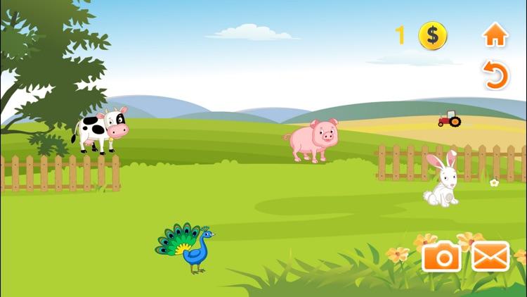 Kids Puzzle Animals screenshot-3
