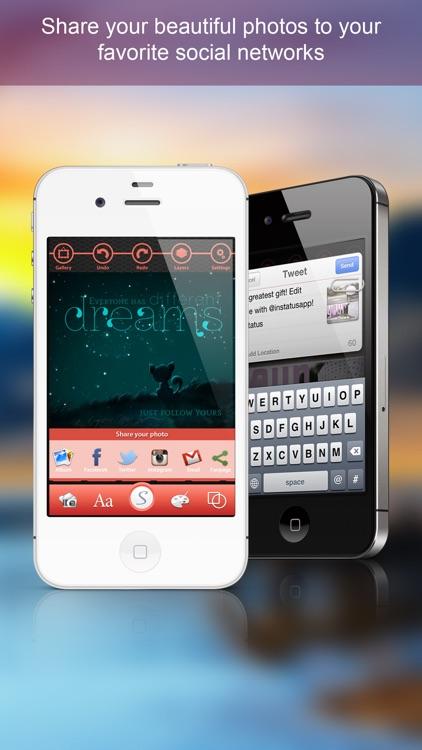 inStatus - A creative editor making your photos gorgeous screenshot-4
