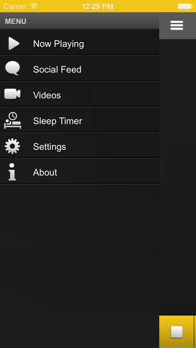 La X 94.7 FM screenshot two