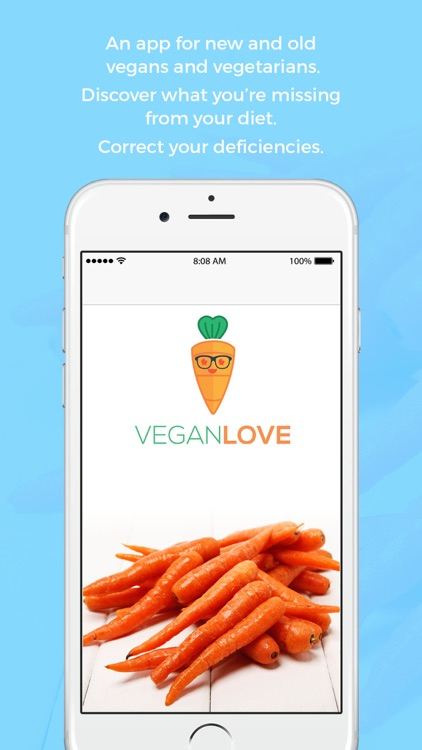 Vegan Love - nutrition, deficiencies and recommendations