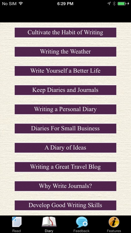 Writing a Diary - Guide & Ideas