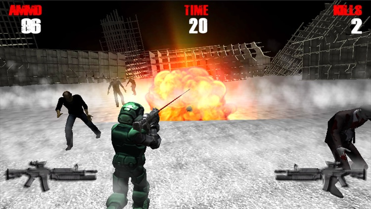 Zombie Road Mission screenshot-0