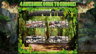 Dinosaur Hunt Sniper Game FREE screenshot one