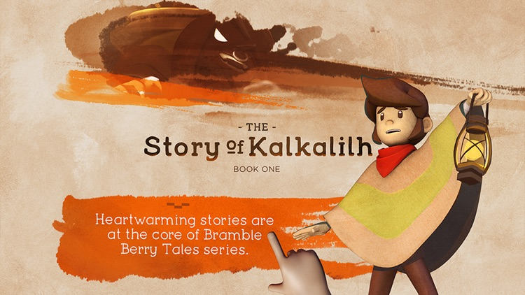 Bramble Berry Tales - The Story of Kalkalilh