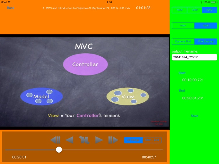 MP4 Video Editor for iPad screenshot-3