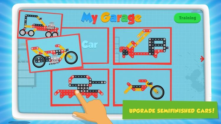 Car Maker Games: Fun Free Simulator Games for Kids Boys & Girls. Build, Make & Play Vehicles screenshot-3