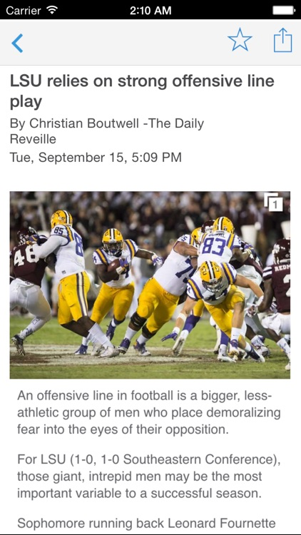 LSU Reveille screenshot-2
