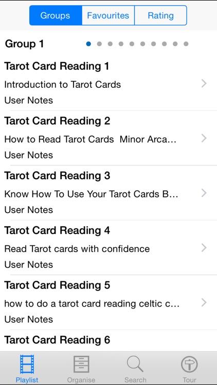 Tarot Card Reading.