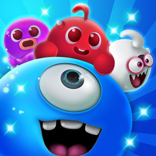 Candy Monster - Sweetest Match 3 Puzzle icon