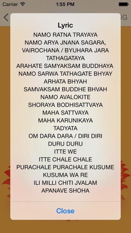 Buddha Mantras For Meditation PRO screenshot-4