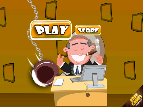 A Mad Office Party Revenge FREE - The Angry Jerk Boss Attack Game-ipad-3