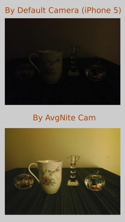 AvgNite Cam : Average+Night Camera screenshot-3