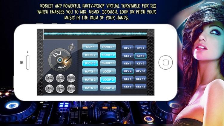 DJ Mixer : DJ Maker,Mixing DJ Sounds and Party Maker Musics,DJ Studio screenshot-3
