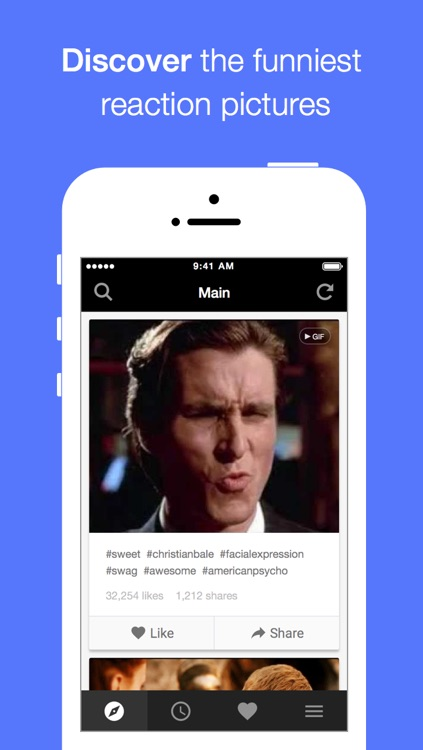 Memeful - Animated GIF and Reaction face for SMS