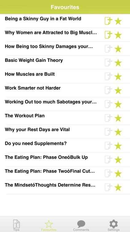 Gain Weight ! screenshot-3