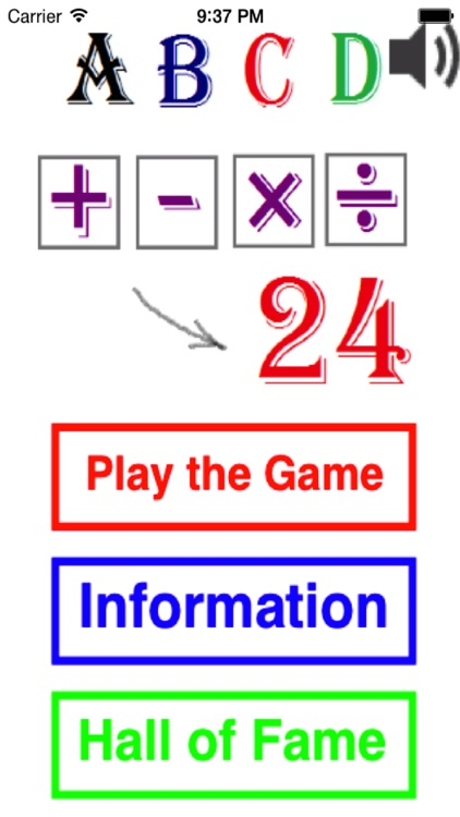 4 Numbers Math Game screenshot-4