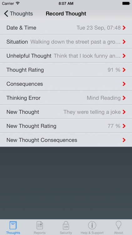 Thought Diary Pro screenshot-0