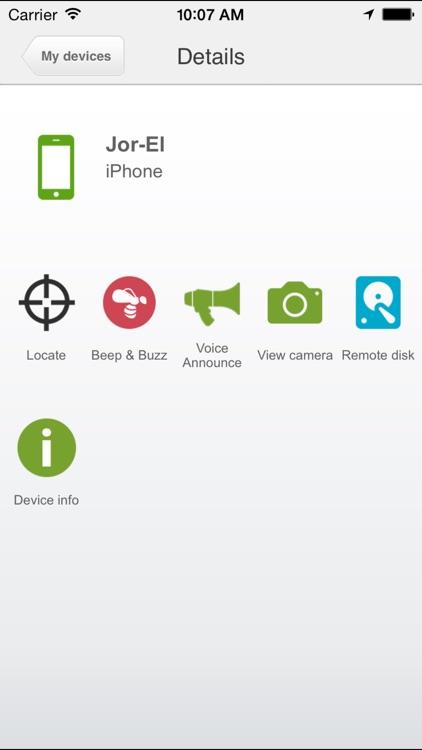 eCloud screenshot-3