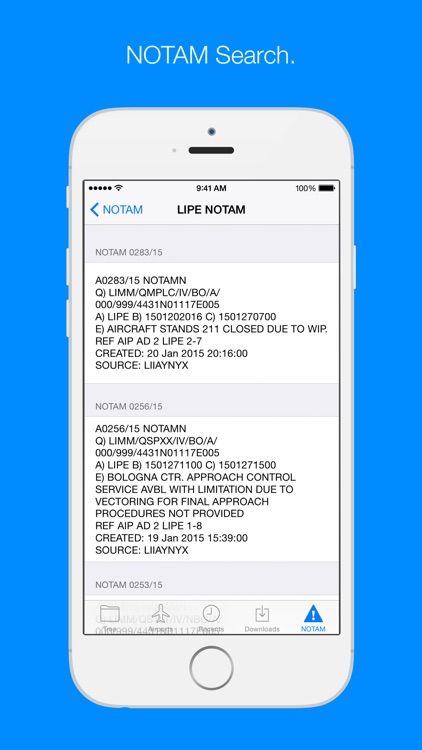 AIP Italia - Italian AIP manual screenshot-3
