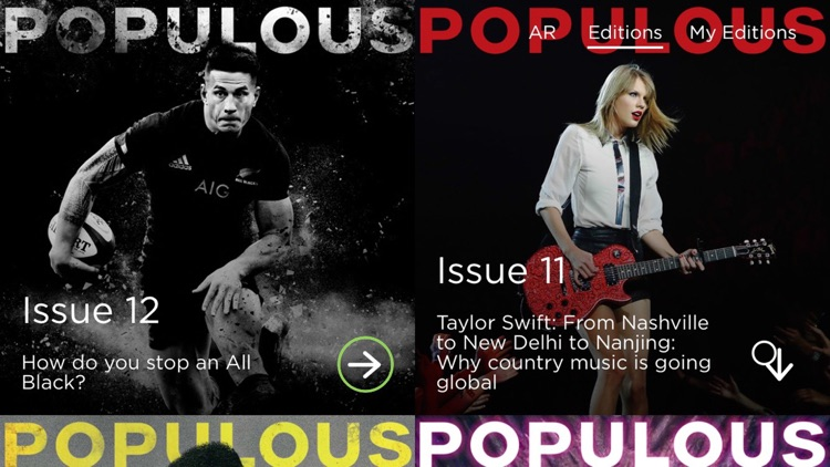 POPULOUS Magazine screenshot-2