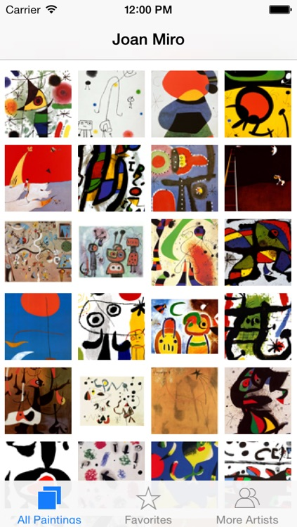 Joan Miró 128 Paintings HD Ad-free (Joan Miro)