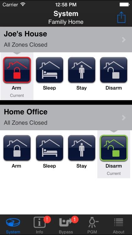 iParadox – Alarm System Control