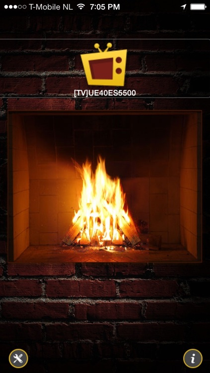 Fireplace for LG Smart TV