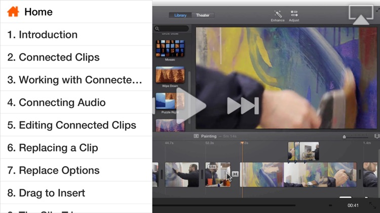 Course For iMovie - Trimming, Titles, Transitions & Trailers