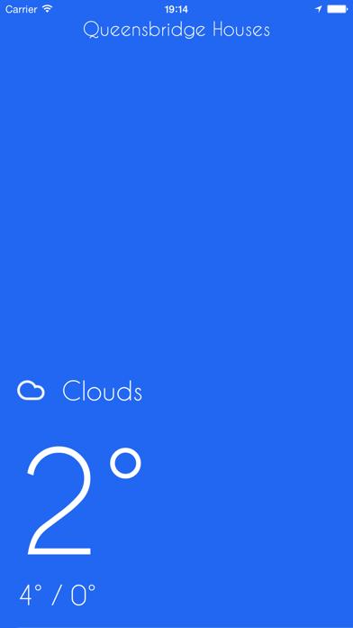 iWeather - Minimal, simple, clean weather appのおすすめ画像1