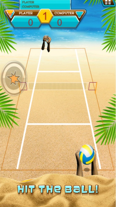 A Volleyball Beach Battle Summer Sport Game-1