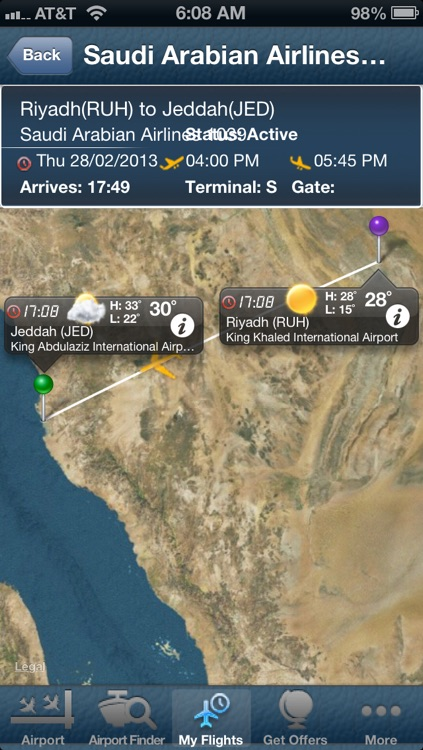 Jeddah Airport - Flight Tracker Premium airlines JED Saudi Arabian