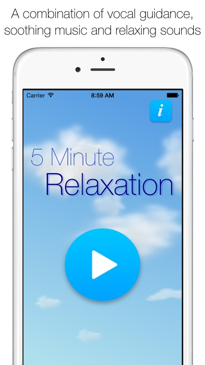 5 Minute Relaxation Pro - Guided meditation for sleep, rest and stress relief screenshot-0