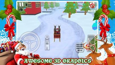 3Dサンタのそりのクリスマス駐車場ゲーム無料のおすすめ画像1