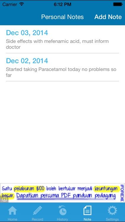 My Medication Diary screenshot-3
