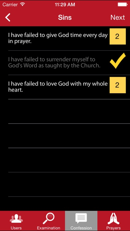 Confession: A Roman Catholic App screenshot-3