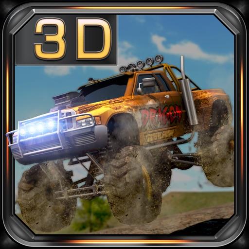 Monster Truck Jam Racing 3D - Off-road Driving Simulator