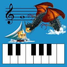 Kids Piano Sea Creatures