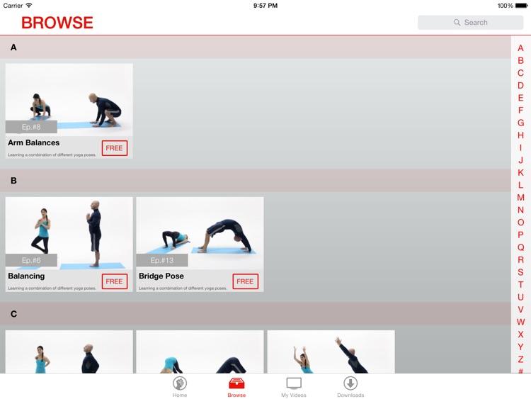 Vinyasa Yoga Lessons for iPad screenshot-3
