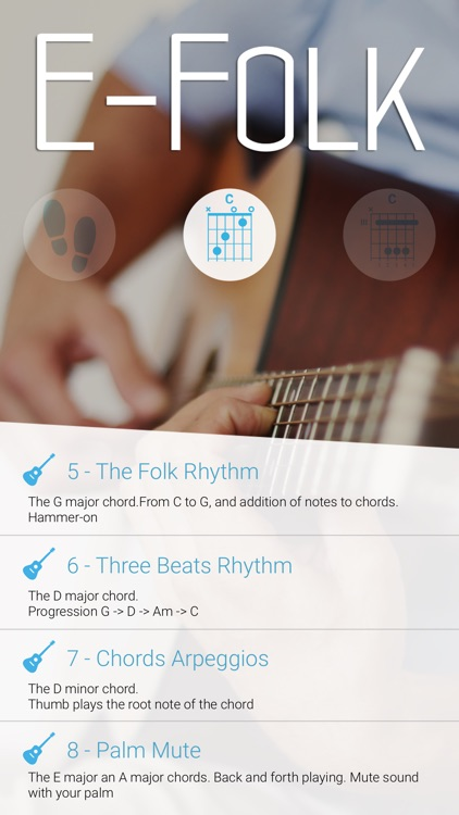 E-Folk: Acoustic Guitar for beginners screenshot-4