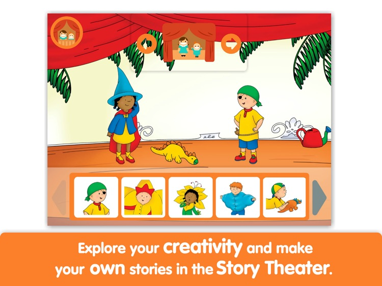 Caillou: My First Play - Lite - by i Read With screenshot-3