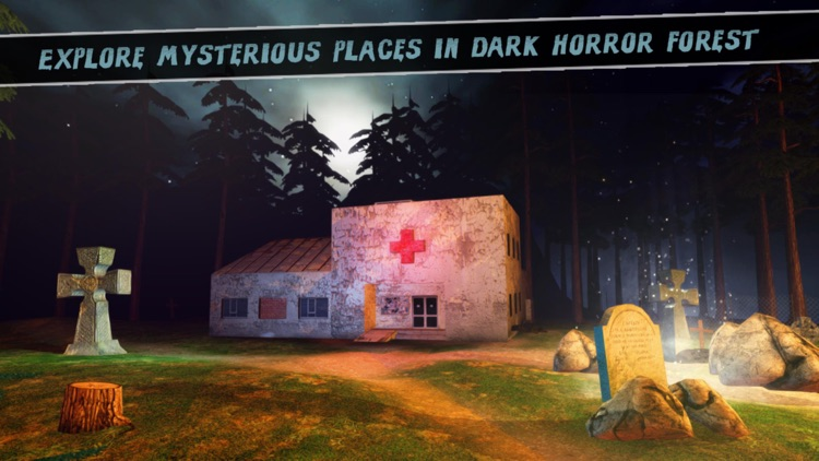 Dark Dead Horror Forest 2 : Scary FPS Survival Game