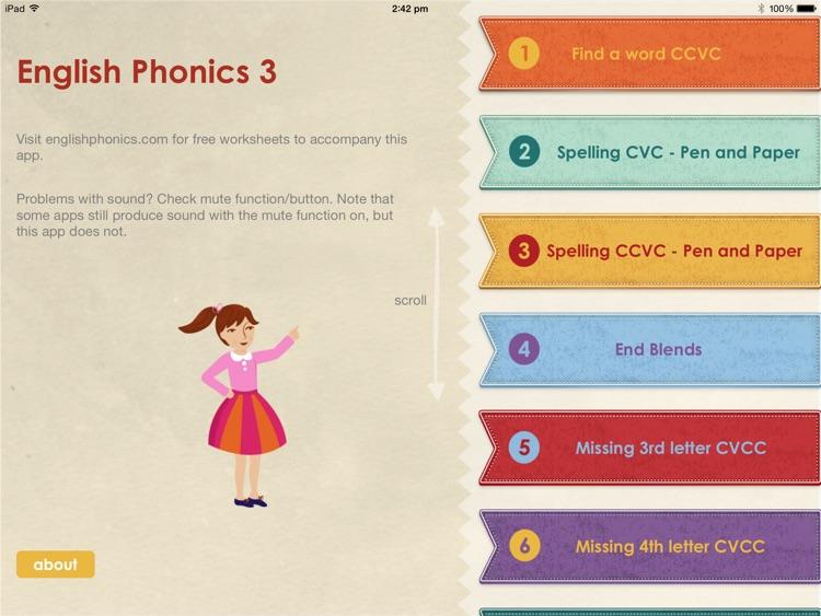 English Phonics 3