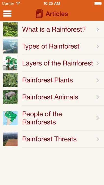 Britannica Kids: Rainforests screenshot-4